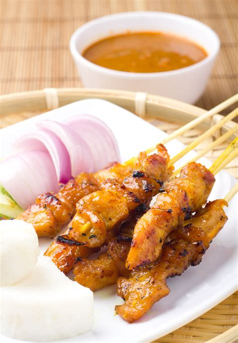 chicken satay chicken satay bigoven