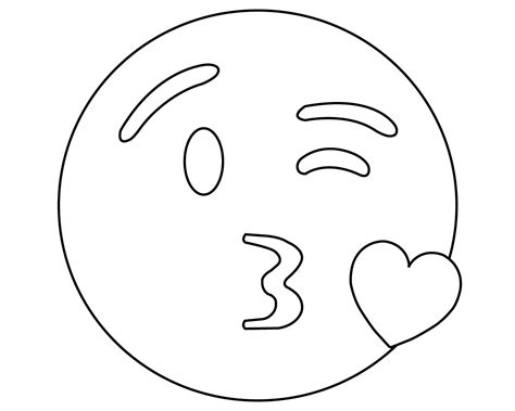 Coloring Emoji by Printable Emoji Coloring Pages For Your Lovely Toddlers
