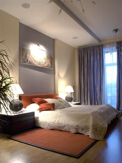 orange accents  bedrooms  stylish ideas digsdigs