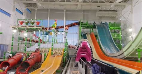 rhyls sc water park  shaping  north wales