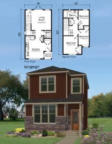 Narrow Lot Houses by House Plan Narrow Lot Plans Home Design Floor