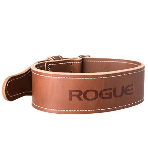 rogue ohio lifting belt weightlifting vegetable tanned leather rogue fitness
