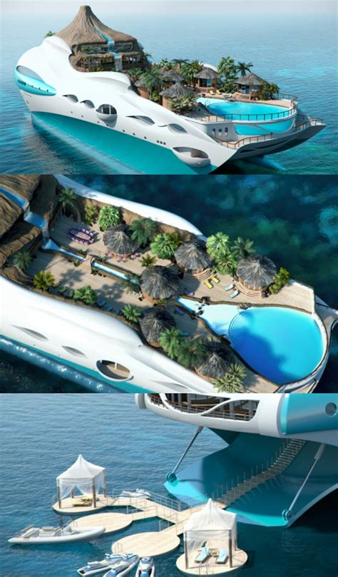 yacht island luxury on pinterest yachts pools and dream homes