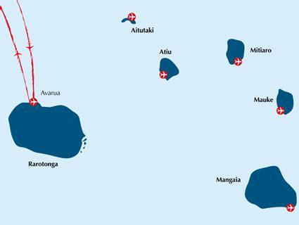 Cook Inseln Karte