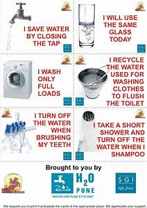 Posters on Save Water With Slogans in Hindi images
