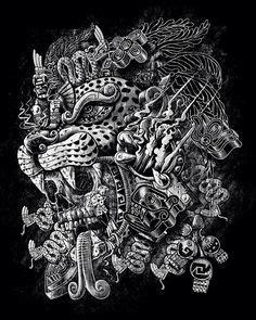 Best Aztec Tats Images Culture