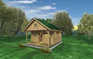 Shed Cabin Guest House Plans