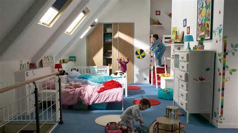 chambre bébé sous pente deco chambre garcon sous pente visuel 7
