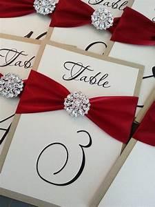 Ideas - Wedding Table Number Cards #2066583 - Weddbook