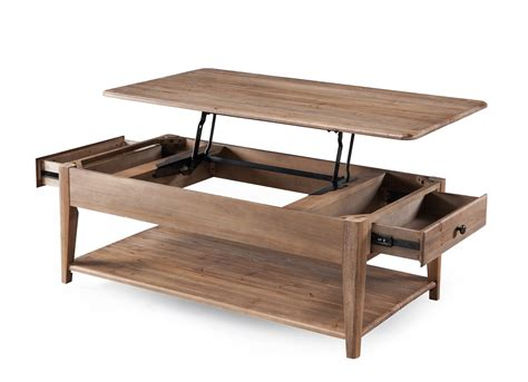 baytowne magnussen collection t3749 lift top coffee table