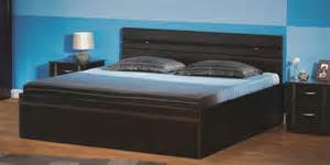 King Size Bedroom Set With Storage by Buy Zurina King Bed With Storage In Wenge Colour By Godrej