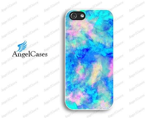 5s cases etsy turquoise watercolor iphone 5 iphone 5c iphone 4