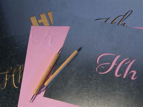 customizable metal stencils  letters craftcutscom