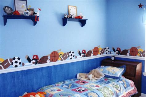 baby room sports theme sports theme mural molly 39 s visual expressions