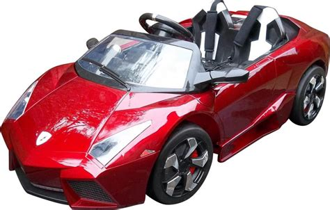 car toy rocket lamborghini 12v kids electric ride on childrens toy