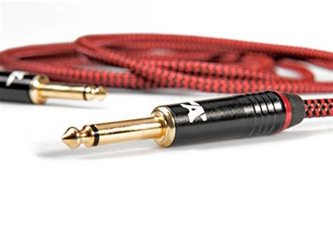 Amboz Cables Red Dragon Guitar Cable Sturdy Instrument