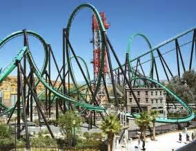 Rides at Six Flags Magic Mountain California