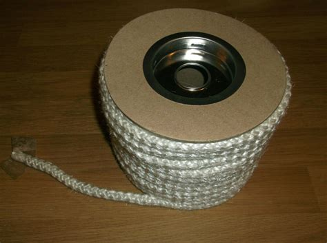 4mm To 25 Mm Stove Rope / Gasket Seal For Flues Stove