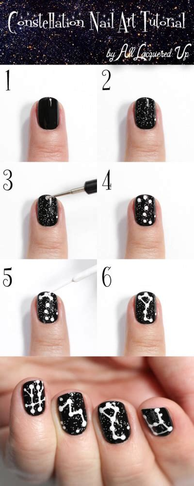77267 Moon Guide Discount Code by Astrology Manicure The Constellation Nail Tutorial