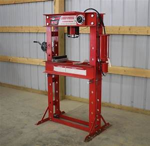 AMOEL 50 TON AIR/HYDRAULIC SHOP PRESS (UNUSED)