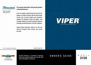 Viper 3100 Manual De Usuario