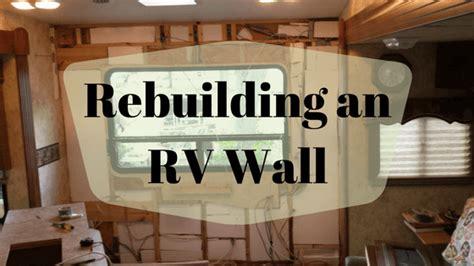 rv interior wall repair home  wheels