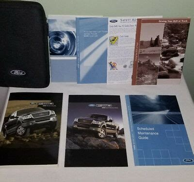 ford    owners manual books set xlt lariat