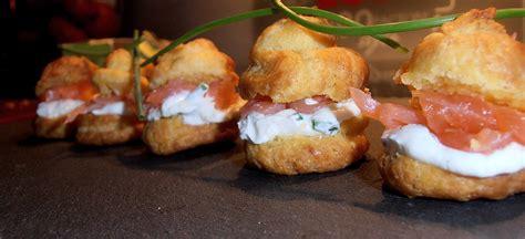saumon cuisine mini choux farcis à la chantilly au mascarpone citron et