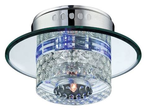 clear glass ls lite source ls 5611 flush mount with clear glass shades