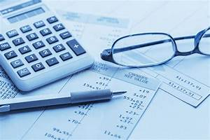 Accounting Stock Image  Image Of Money  Diagram  Calculator
