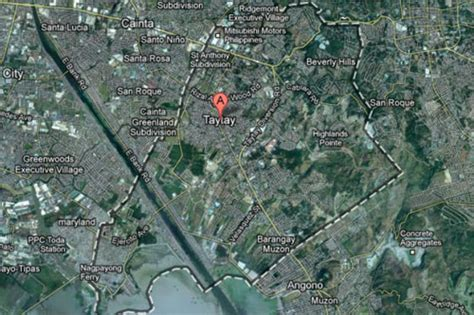 cainta taytay  rizal flood prone areas abs cbn news