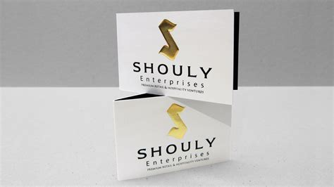 Shouly Enterprises Folded Business Card Business Card Design Milton Keynes Letters Of Appreciation Best Font Letter Date Placement Purdue Owl Book To Potential Customers Ppt