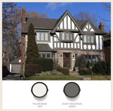 tudor style exterior paint pinterest tudor house