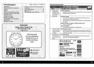 Manual Krontaler Radiogestuurd Horloge  Page 2 Of 6   Dutch