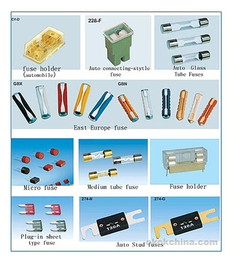 Fuses, Relays, And Switches, Made In China