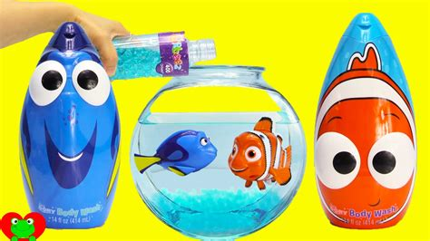 Finding Dory, Nemo, And Squirt Swimmers In Orbeez With