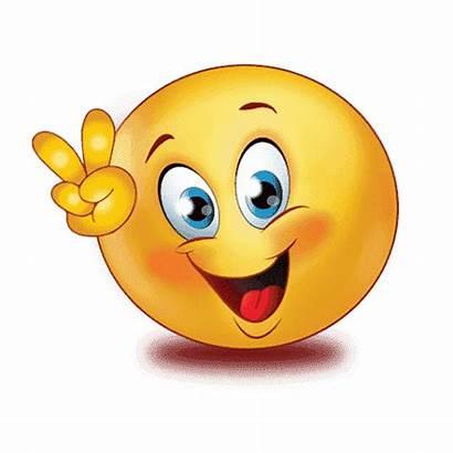 Emoji Job Clipart Happy Victory I2symbol Hand