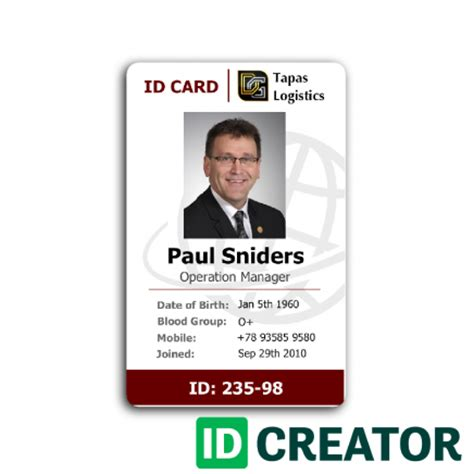 Employee Badges By Idcreatorcom  Create Custom Employee