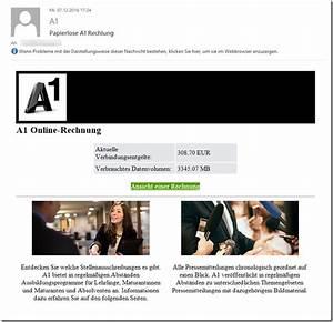 A1 Rechnung : viruswarnung a1 online rechnung mimikama ~ Themetempest.com Abrechnung