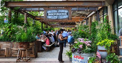 Botanical Gardens Washington Dc by Independence Beer Garden Philadelphia Usa Groundswell