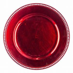 Lot D Assiette : lot de 12 dessous d 39 assiette strass rouge d coration pour la table eminza ~ Teatrodelosmanantiales.com Idées de Décoration