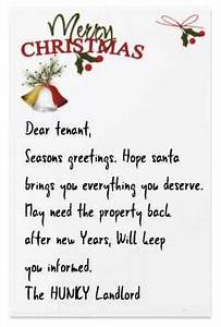 Shit You shouldn t Write In Your Tenant s Christmas Card