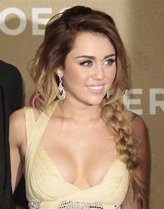 Miley Cyrus Long Braided Hairstyles 2012 - PoPular Haircuts