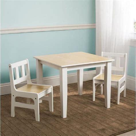 table et chaises enfants delta table enfant et 2 chaises en bois achat vente table et chaise cdiscount