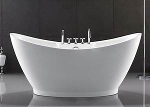 European Style Resin Freestanding Tub Custom Size Deep