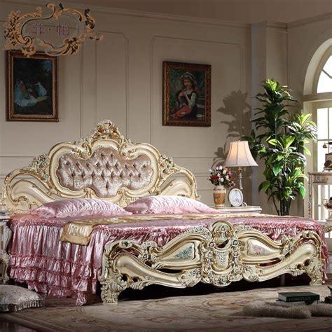 2019 Antique Furniture Bedroom Baroque European Furniture