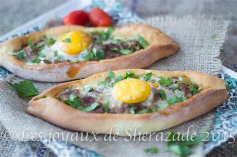 jeux de cuisine de tarte pizza turque pide à la viande les joyaux de sherazade