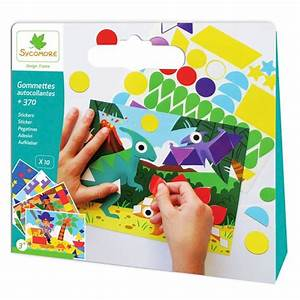 Loisirs Créatifs Enfants : kit de cr ation enfant en gommettes autocollantes ~ Melissatoandfro.com Idées de Décoration