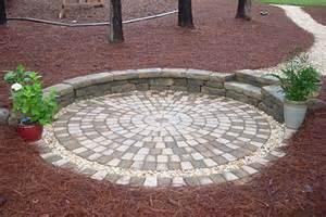Circle Patio Paver Designs