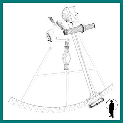 Sextant Job Description by Navigation Sextant 3d Model Max Cgtrader